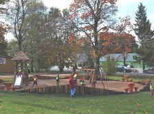 VIA HANSEATICA: 1st phase of reconstruction of Avinurme park is finished with Programme support