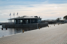 COMMON PEIPSI: Räpina harbour pavilion on Peipsi lake is officially opened