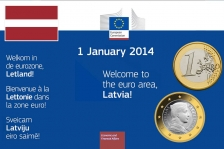 Latvia becomes the 18th Member State to adopt the euro
