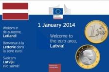 Латвия становится 18-ым членом ЕС, перешедшим на Евро