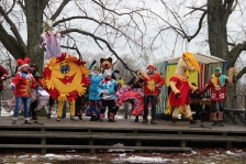 CULTURE ARTS: with colourful Masquerade Festival in Salacgrīva project finalise its activities