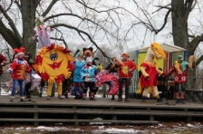 CULTURE ARTS: красочным Фестивалем-маскарадом в Салагриве проект завершил свои мероприятия