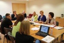 Auditors of Estonian and Latvian partners holding consultations with JTS staff