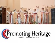 PROMOTING HERITAGE: projekti lõpukonverents Petseris, Venemaal