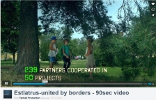 Results of cross border cooperation displayed in original Programme video