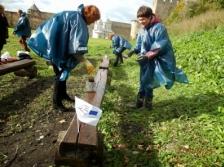 ECDay: «Субботник» организован соседями Нарвой и Ивангородом, чтобы отметить День Европейского сотрудничества