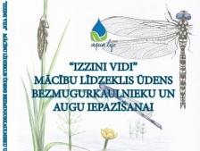 """AQUA LIFE: Izdota grāmata """"Izzini vidi"""" ūdens vides daudzveidības iepazīšanai"""