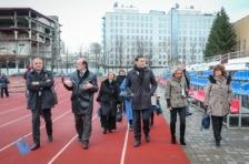 Делегация Европейской Комиссии знакомится с заключительными результатами программы Эстония-Латвия-Россия в Санкт-Петербурге