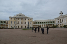 Visit of the Ambassador of the European Union to Pavlovsk