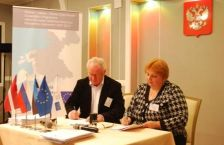 "Grant contract for 1 688 913, 00  euro of the Programme co-financing countersigned by the JMA of the Programme and Latvian office of Euroregion ""Country of lakes"" (Latvia)"