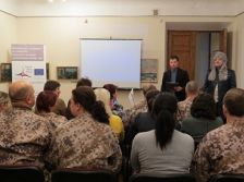 Results of archaeological research presented for the Shcool of Infantries of the National Armed Forces of Latvia